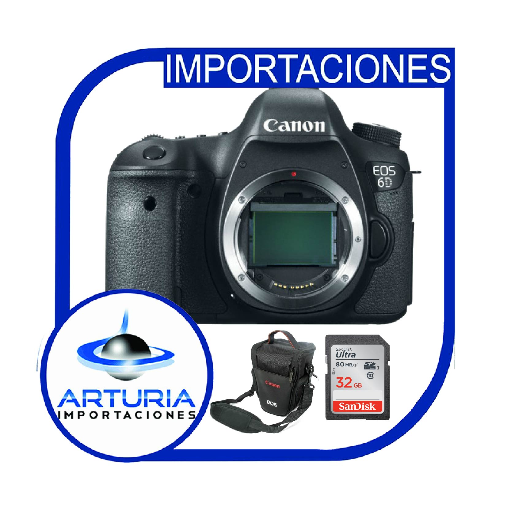 Canon 6D SOLO CUERPO + Memoria 32Gb de 80mbs + Bolso - Importaciones ...
