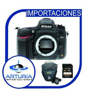 Nikon D610 solo cuerpo