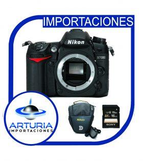 Nikon D7000 solo cuerpo con memoria y bolso