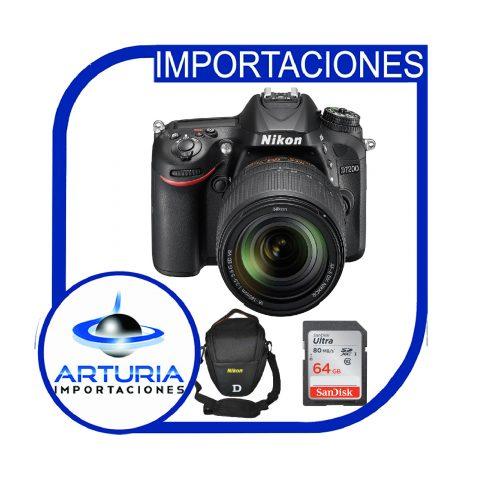 Nikon D7200 con 18-140 Pg