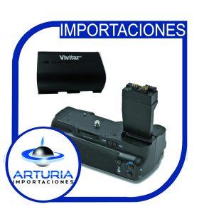 battery grip para Canon 70d Vivitar lp-e6