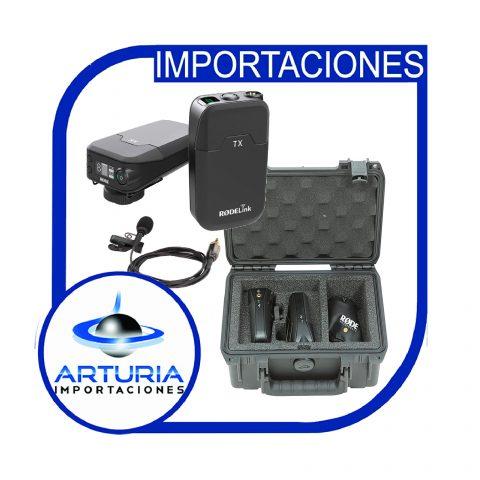 Rodelink micrófono de solapa inalámbrico y caja pg-01