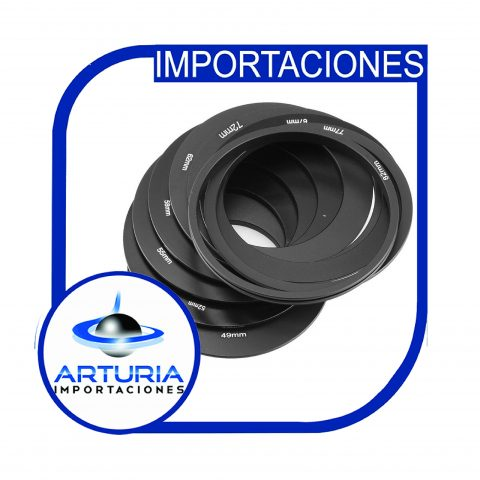 Kit filtros nd 2.4.8.16 con adaptadores de varios diametros pg5-01