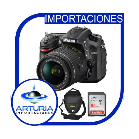 Nikon D7200 con 18-55 Pg