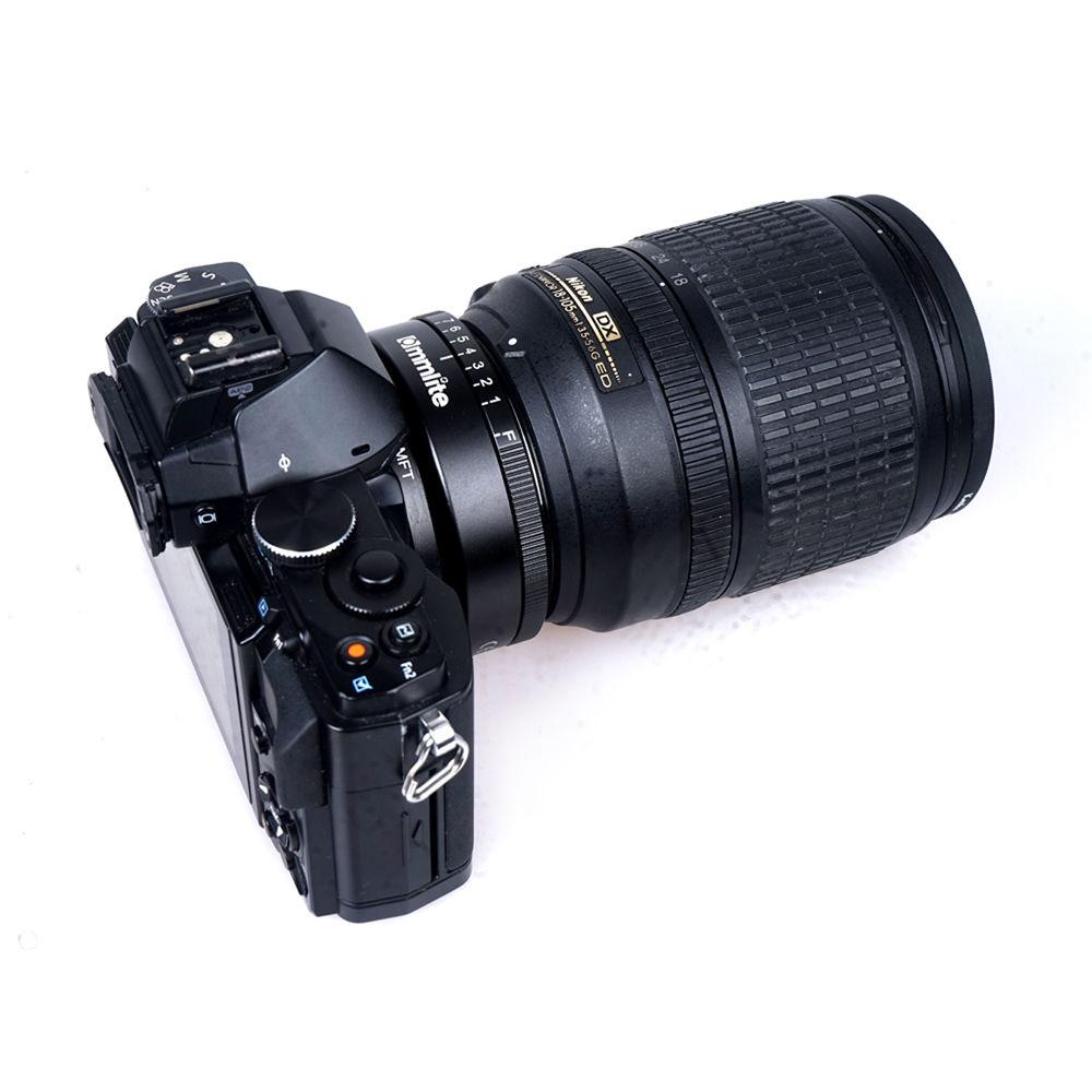 Profesional Nikon F a Micro 4//3rds Lente Adaptador Anillo M 4//3 Montaje